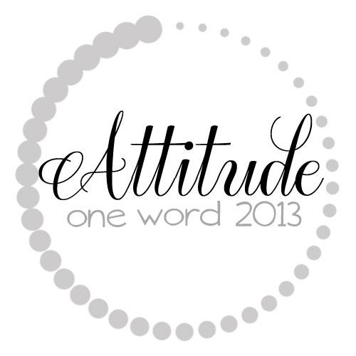 OneWord2013_attitude